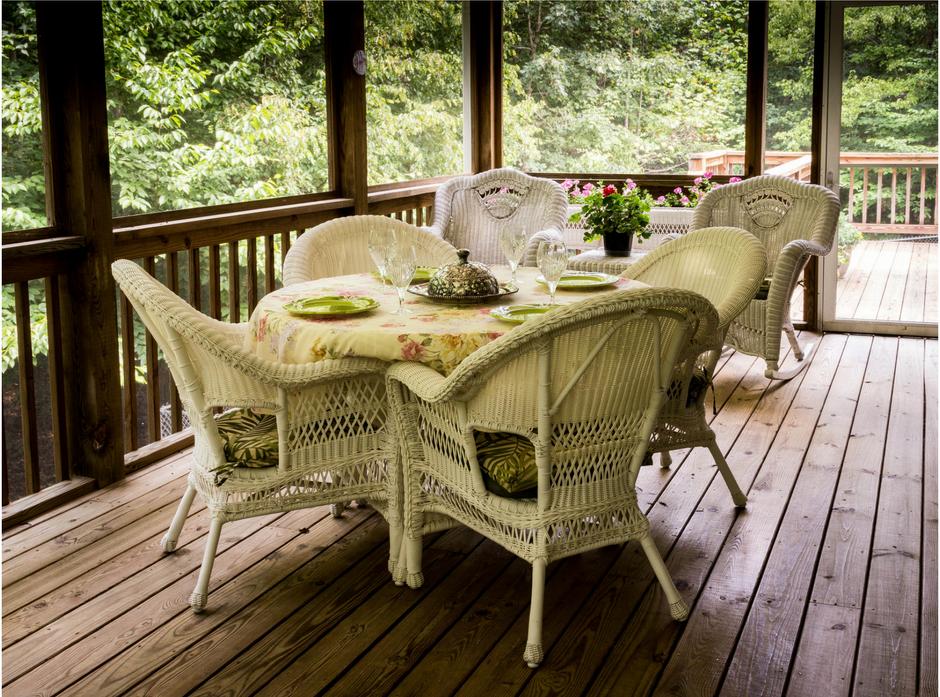 An example of timber decks.